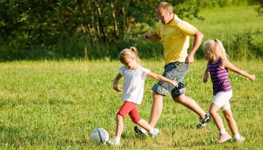 Día de deporte en familia