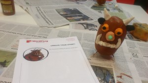 Gruffalo hecho por niños de WordPlay