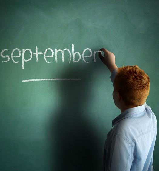 Septiembre en la escuela