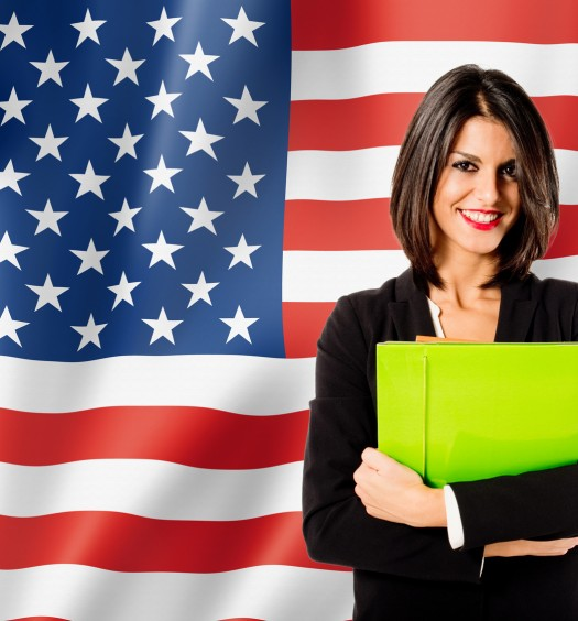 learning english language in U.S.A.